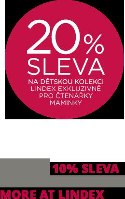 20% sleva s Lindex